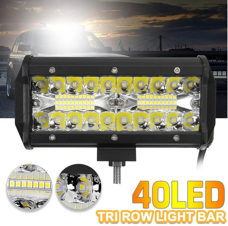 LED Light Bar For Trucks, Jeeps, SUVs and boats