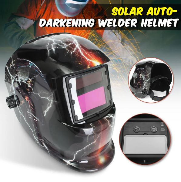 Automatic Variable Light Solar Welding Mask TIG Protection Helmet