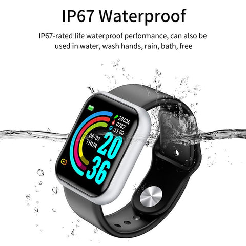 Image of Smart Watch | Fitness, Blood Pressure & Heart Rate Tracker (KM20)
