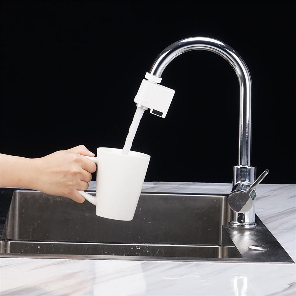 Universal Automatic Sensor Water Faucet For Kitchen And Bathroom Sink - Infrared Induction Tap