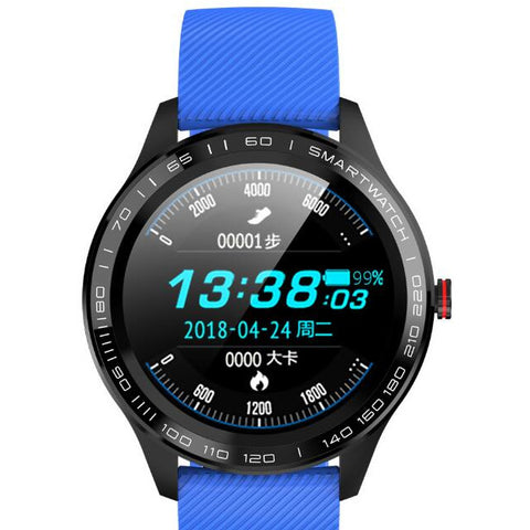 KMD9 Smart Watch for Sports and Business - Full Touch, Blood Pressure, ECG, Health Monitoring
