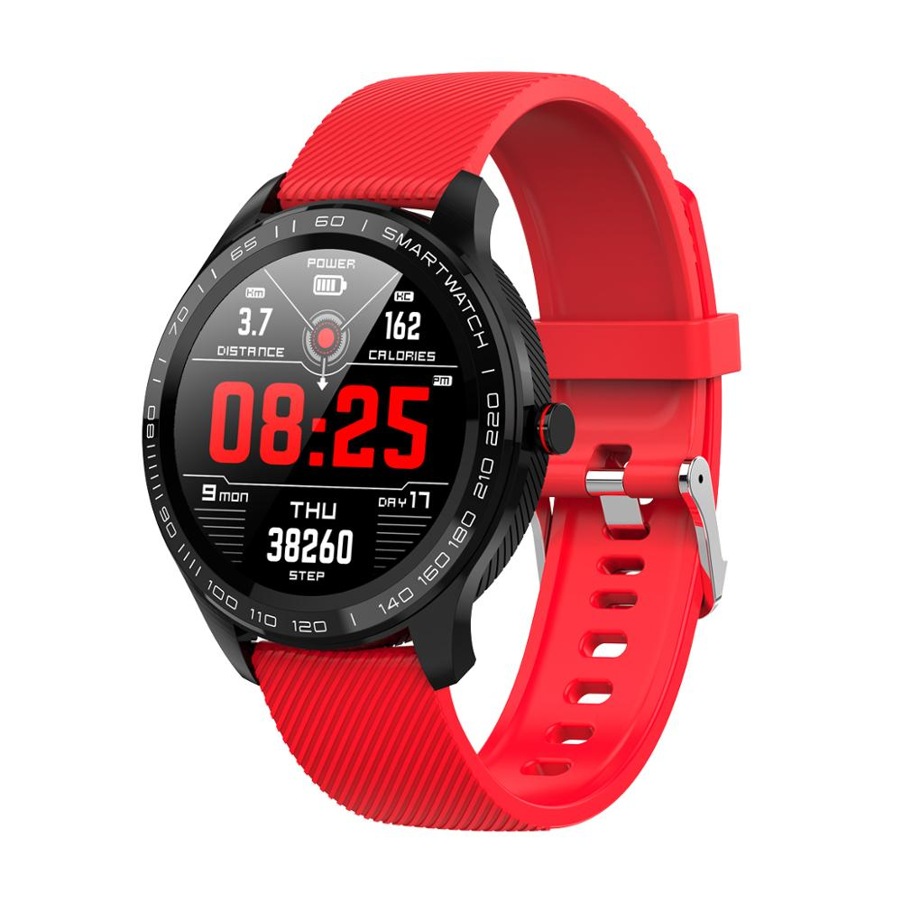 Stylish Smart Watch for Sports and Business - Full Touch, Blood Pressure, ECG, Health Monitoring KMD9