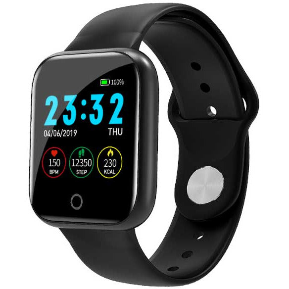 Smart Watch And Blood Pressure Heart Rate Monitor For Apple And Android - KM20