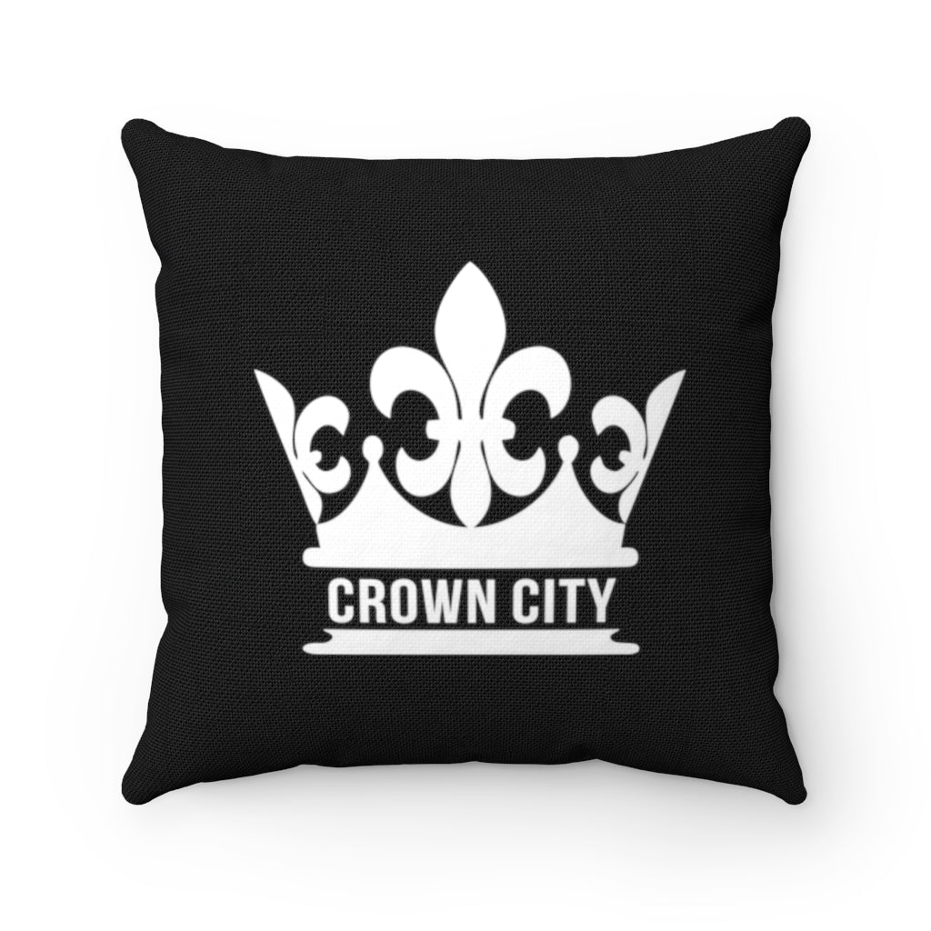 LOVE FIRST / CROWN CITY Spun Polyester Square Pillow