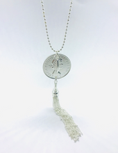 Load image into Gallery viewer, Classic Coin Dangle Necklace