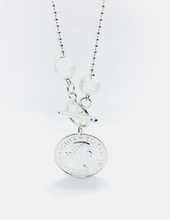 Load image into Gallery viewer, Classic silver coin Necklace