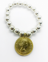Load image into Gallery viewer, Classic Royal Gold Coin Bracelet