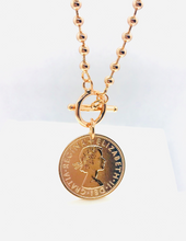 Load image into Gallery viewer, Luxe Coin Necklace