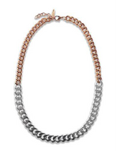 Load image into Gallery viewer, Luxe Two-Tone Necklace