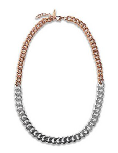 Luxe Two-Tone Necklace