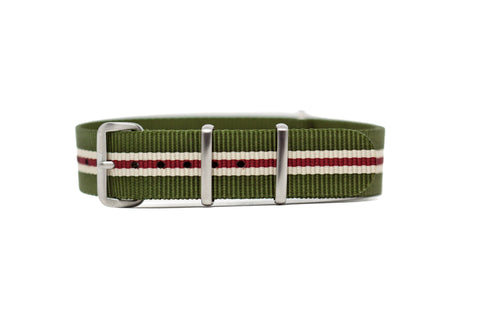 The Fircrest Premium Nylon Strap w/Brushed Hardware