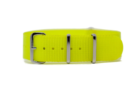 The Brier Premium Nylon Strap w/Polished Hardware
