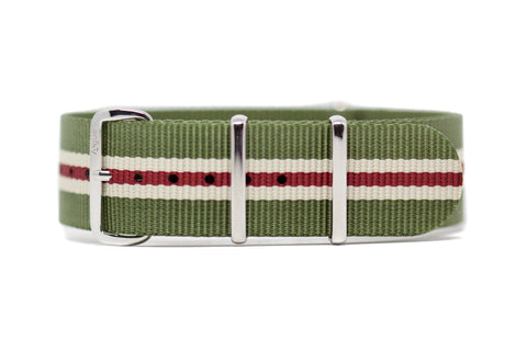 The Fircrest Premium Nylon Strap w/Polished Hardware