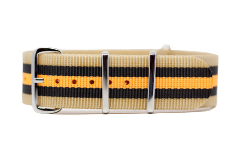 The Kennewick Premium Nylon Strap w/Polished Hardware