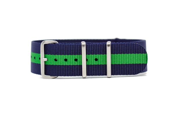 The Lynden Premium Nylon Strap w/Brushed Hardware