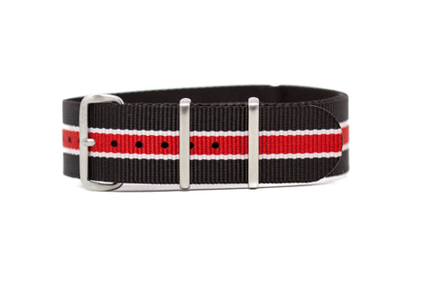 The Pullman Premium Nylon Strap w/Brushed Hardware