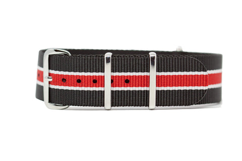 The Pullman Premium Nylon Strap w/Polished Hardware
