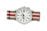 The Ruston Premium Nylon Strap w/Polished Hardware