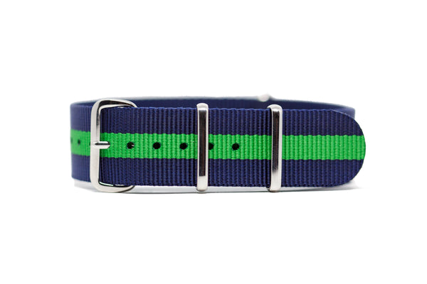 The Lynden Premium Nylon Strap w/Polished Hardware