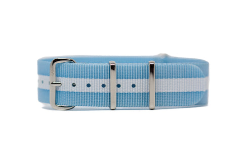 The Newport Premium Nylon Strap w/Polished Hardware