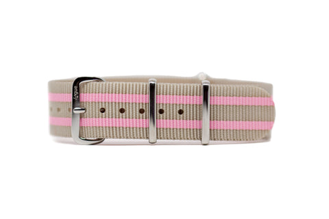 The Pomeroy Premium Nylon Strap w/Polished Hardware