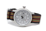 The Vintage Bond Premium Nylon Strap w/Polished Hardware