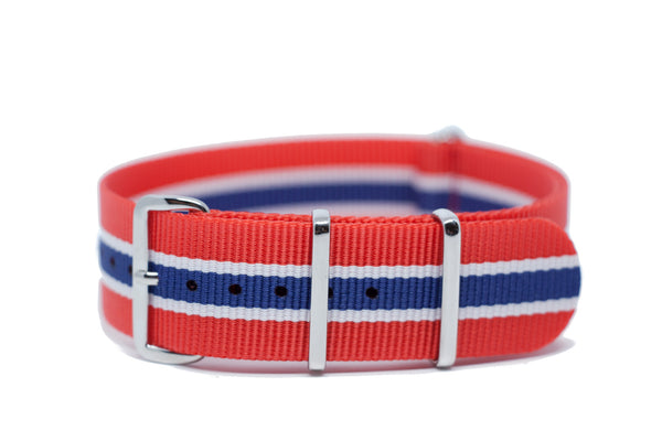 The Kirkland Premium Nylon Strap w/Polished Hardware