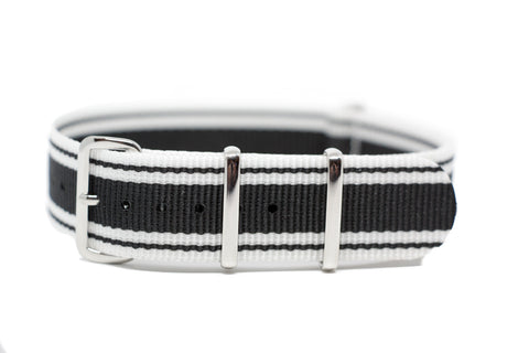 The Kent Premium Nylon Strap w/Polished Hardware