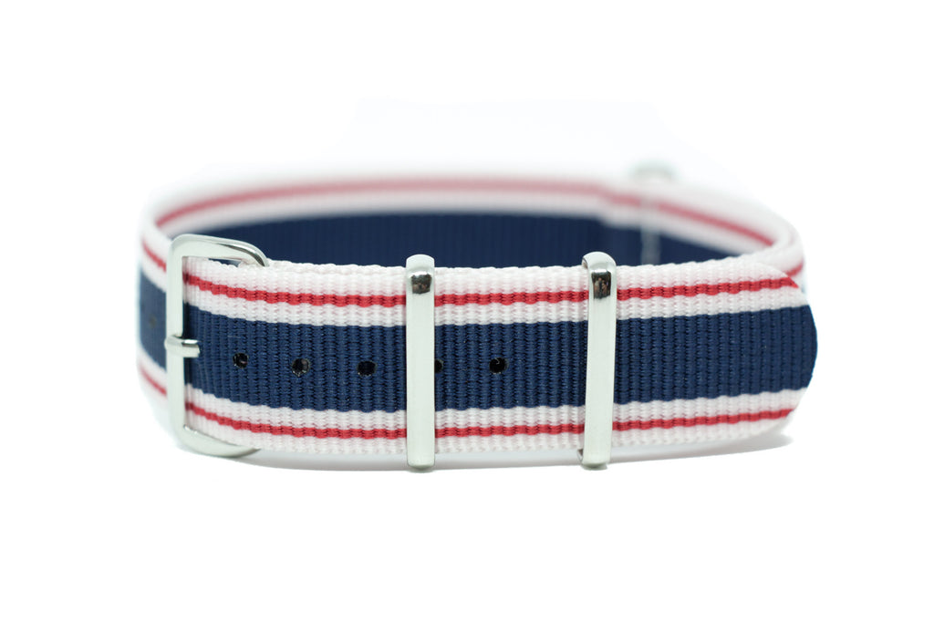 The Gig Harbor Premium Nylon Strap w/Polished Hardware