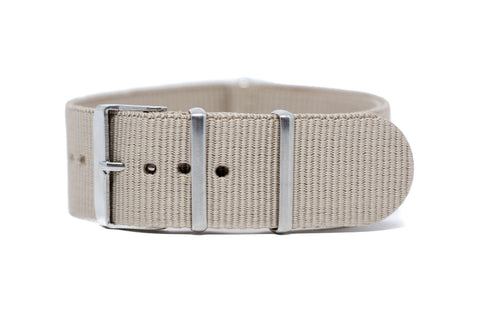 The Quincy Nylon Strap w/Satin Hardware