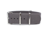 The Renton Premium Nylon Strap w/Polished Hardware