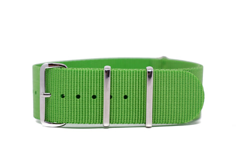 The Seattle Premium Nylon Strap w/Polished Hardware