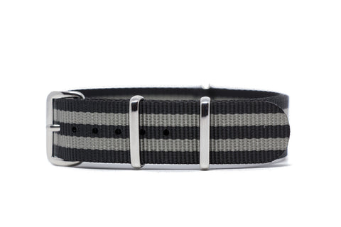 The Bond Premium Nylon Strap w/Polished Hardware
