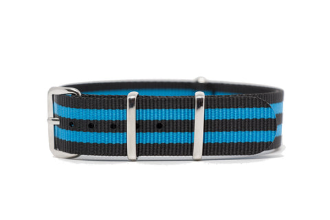 18mm Premium NATO Strap w/Polished Hardware
