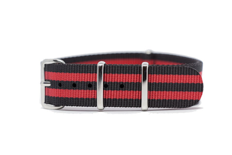 The Algona Premium Nylon Strap w/Polished Hardware