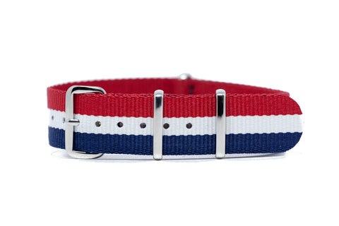 The Dayton Premium Nylon Strap w/Polished Hardware