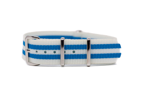 The Fife Premium Nylon Strap w/Polished Hardware