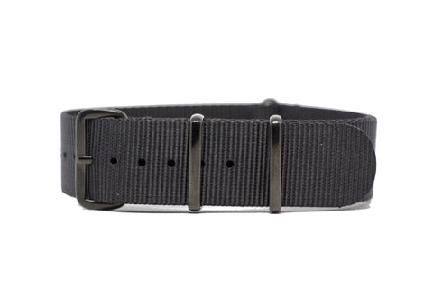 The Bellevue Premium Nylon Strap w/PVD Hardware