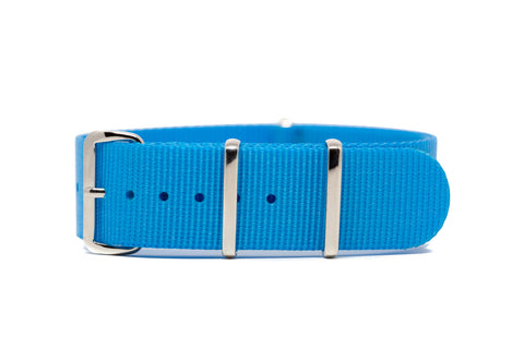 The Newcastle Premium Nylon Strap w/Polished Hardware