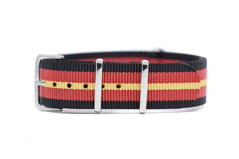 The Langly Premium Nylon Strap w/Polished Hardware
