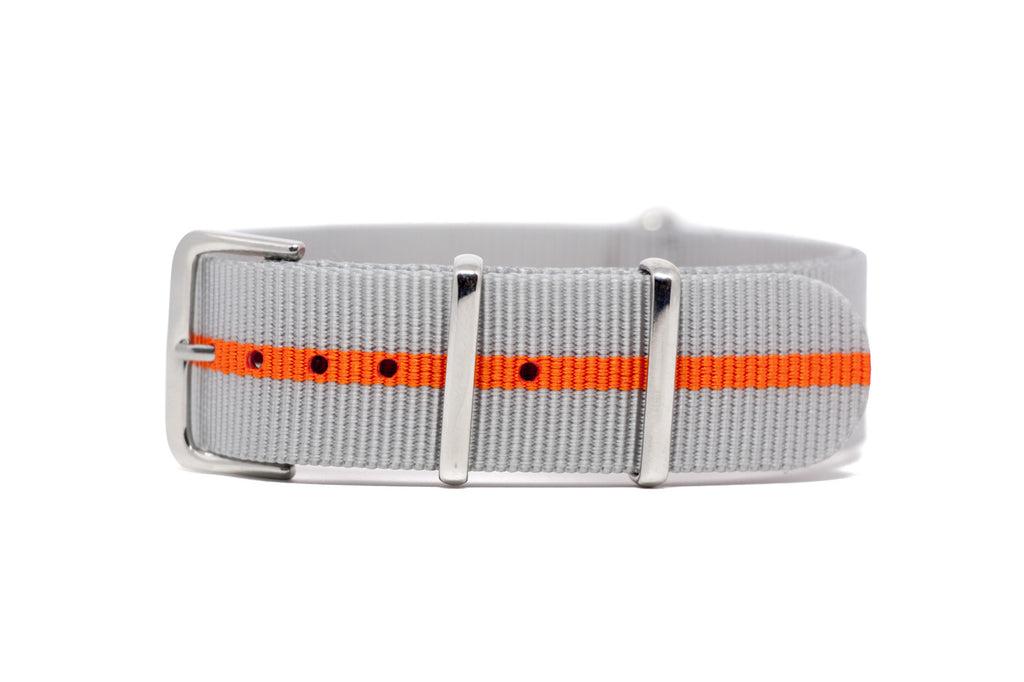 The Fremont Premium Nylon Strap w/Polished Hardware