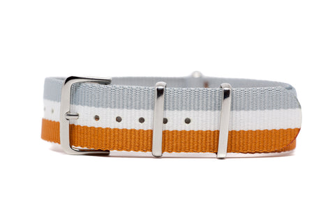 The Nooksack Premium Nylon Strap w/Polished Hardware