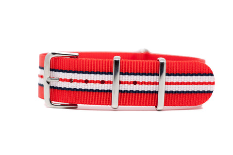 The Magnolia Premium Nylon Strap w/Polished Hardware