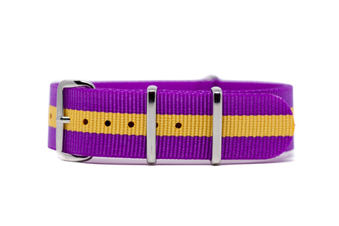 The U-District Premium Nylon Strap w/Polished Hardware