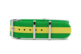 The Blain Premium Nylon Strap w/Polished Hardware