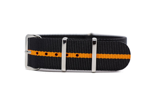 The Georgetown Premium Nylon Strap w/Polished Hardware