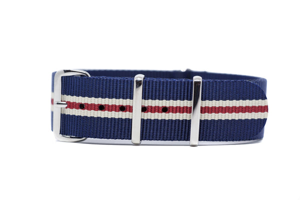 The Ballard Premium Nylon Strap w/Polished Hardware