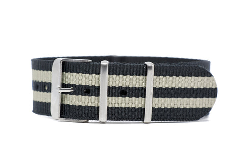 22mm NATO Strap w/Satin  Hardware