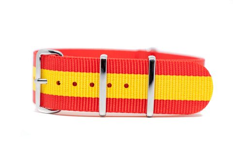 The Walla Walla Premium Nylon Strap w/Polished Hardware