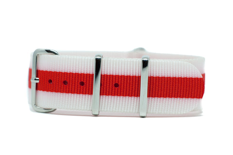 The Chelan Premium Nylon Strap w/Polished Hardware